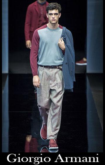 Fashion Giorgio Armani spring summer men look 2