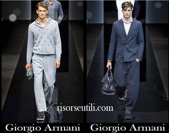 Fashion Giorgio Armani spring summer men