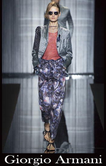 New arrivals Giorgio Armani spring summer look 1