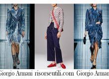 Sales Giorgio Armani summer 2017 fashion clothing