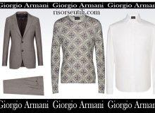 Sales Giorgio Armani summer 2017 fashion for men