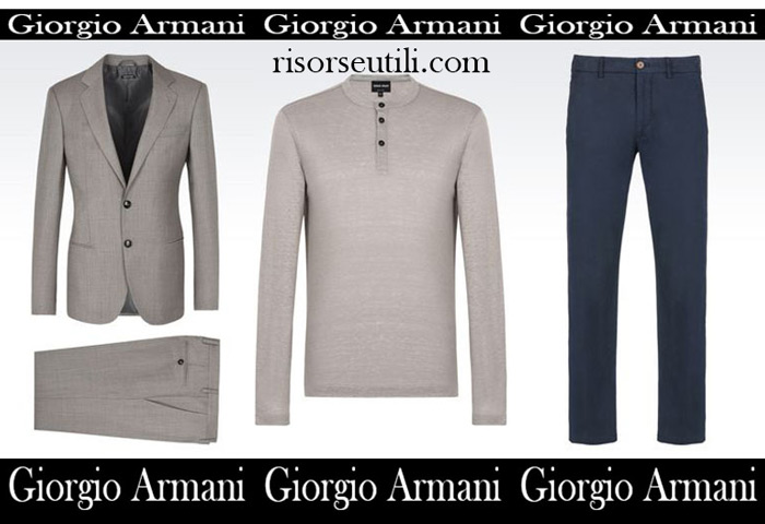 Sales Giorgio Armani summer men