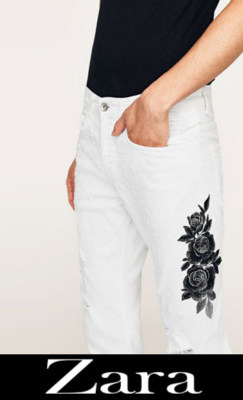 Embroidered jeans Zara fall winter men 2