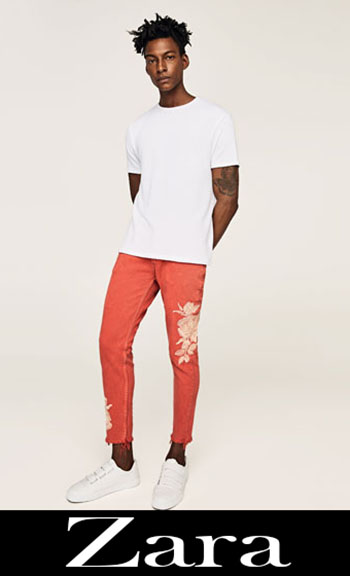 Embroidered jeans Zara fall winter men 3