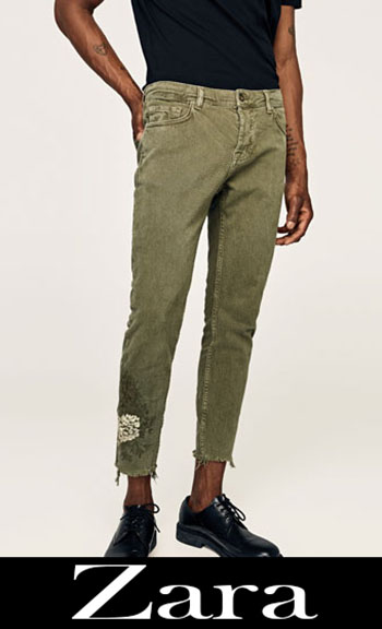Embroidered jeans Zara fall winter men 4