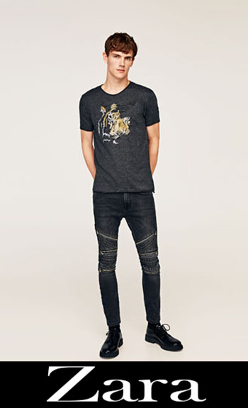 Embroidered jeans Zara fall winter men 9