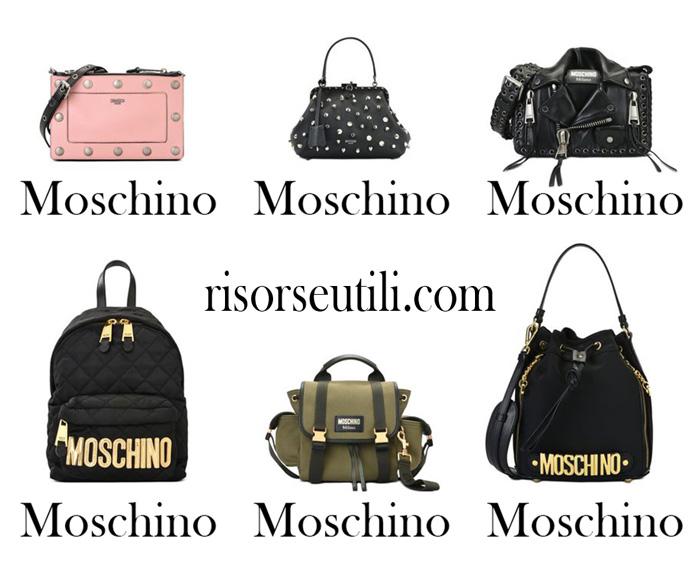 Handbags Moschino fall winter 2017 2018 women bags