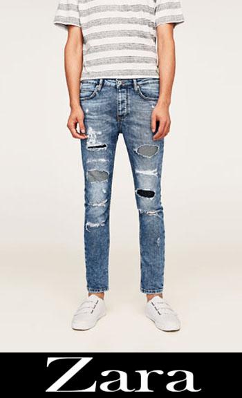 Zara ripped jeans fall winter men 2