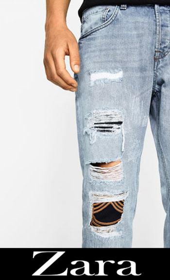 Zara ripped jeans fall winter men 6