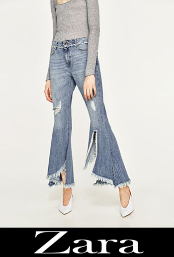 Zara ripped jeans fall winter women 1