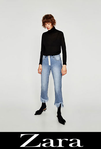 Zara ripped jeans fall winter women 6