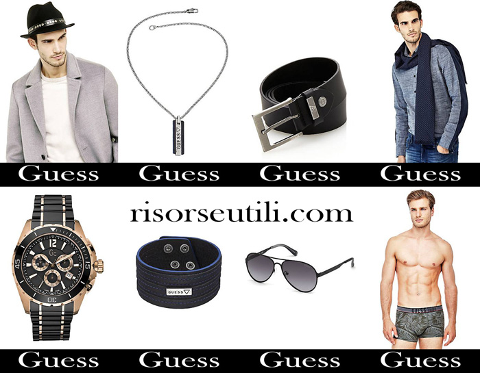 Accessories Guess fall winter 2017 2018 men