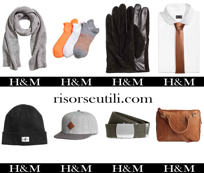 Accessories HM fall winter 2017 2018 for men