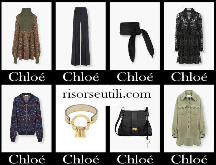 Brand Chloé fall winter 2017 2018 women clothing
