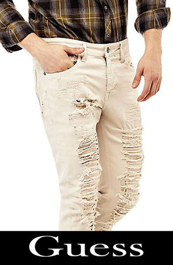 Guess ripped jeans fall winter for men 2
