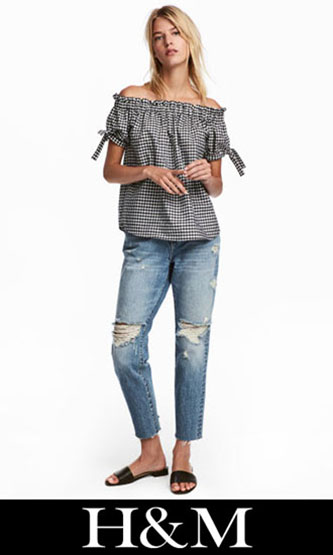 HM ripped jeans fall winter for women 1