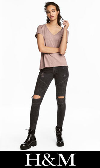 HM ripped jeans fall winter for women 4