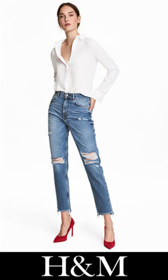 HM ripped jeans fall winter for women 6