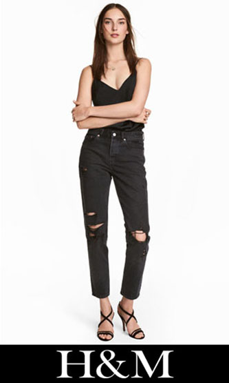 HM ripped jeans fall winter for women 8