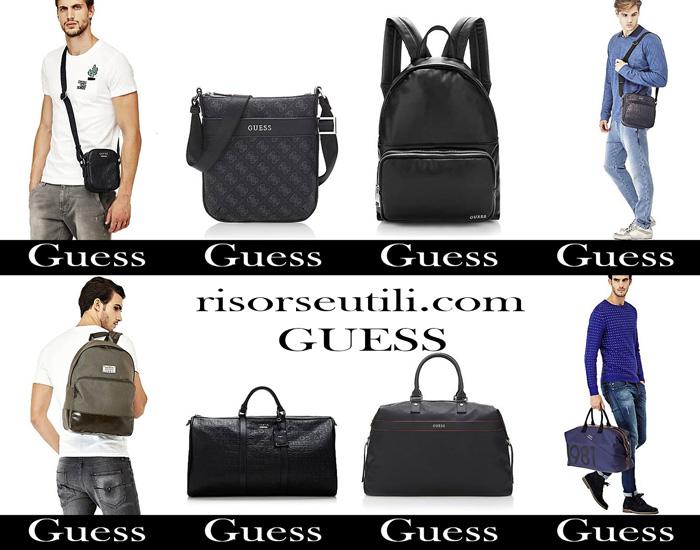 Handbags Guess fall winter 2017 2018 men bags