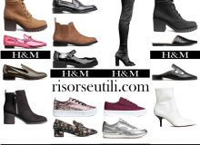 New shoes HM fall winter 2017 2018 for women