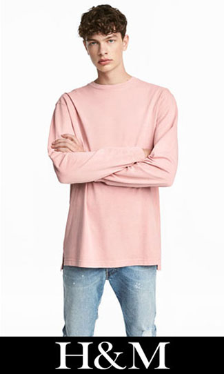 T shirts HM 2017 2018 fall winter men 6