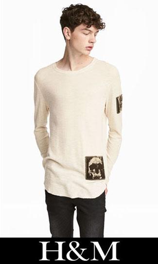 T shirts HM 2017 2018 fall winter men 7