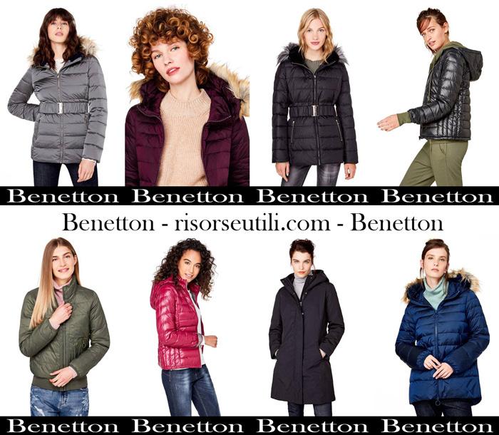 Jackets Benetton fall winter 2017 2018