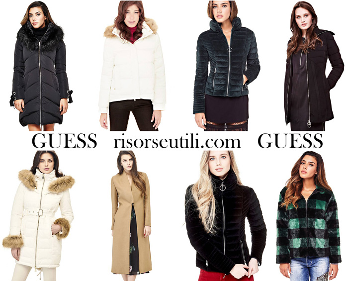 Jackets Guess fall winter 2017 2018 for women