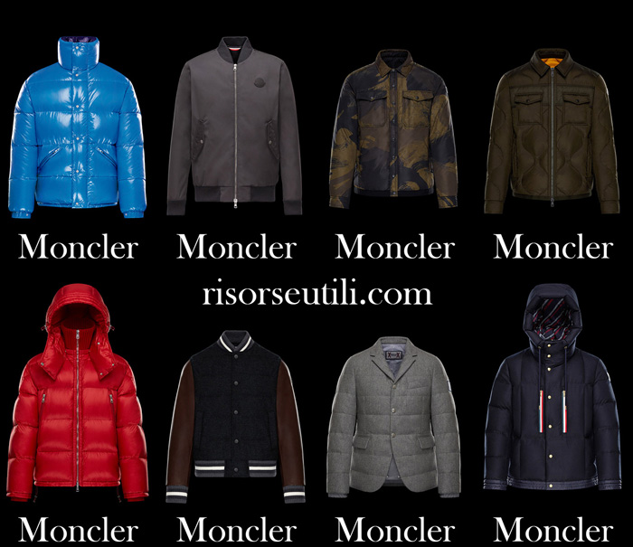 Jackets Moncler fall winter 2017 2018 for men