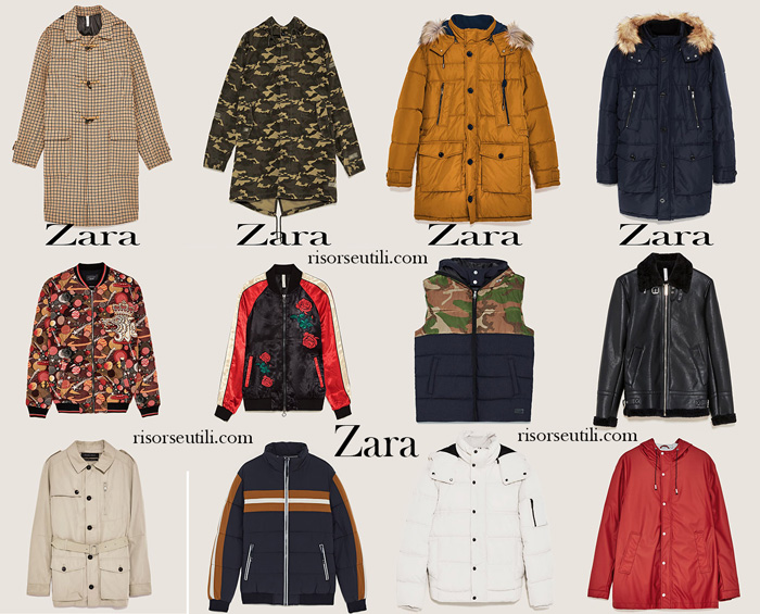 Jackets Zara fall winter 2017 2018 for men