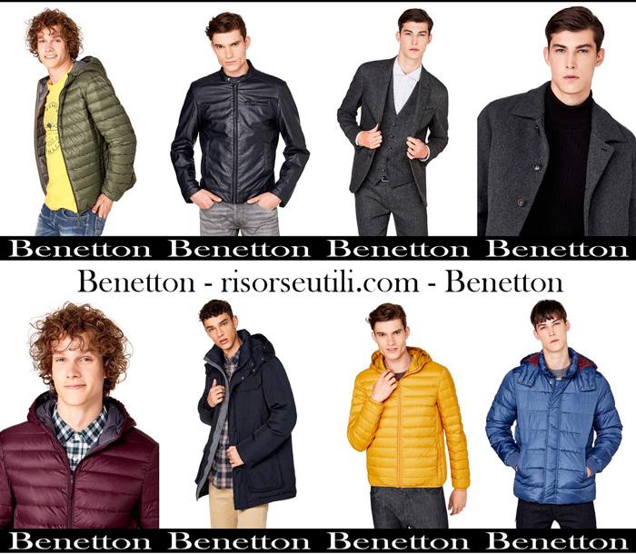 New arrivals Benetton for men jackets fall winter