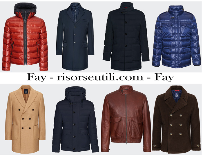 New arrivals Fay for men outerwear fall winter