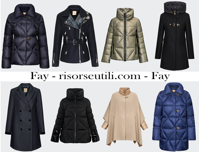 New arrivals Fay for women outerwear fall winter