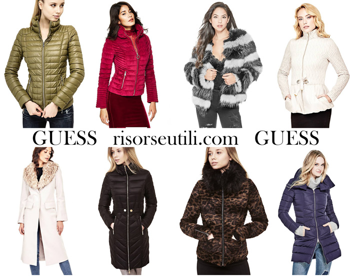 New arrivals Guess for women jackets fall winter
