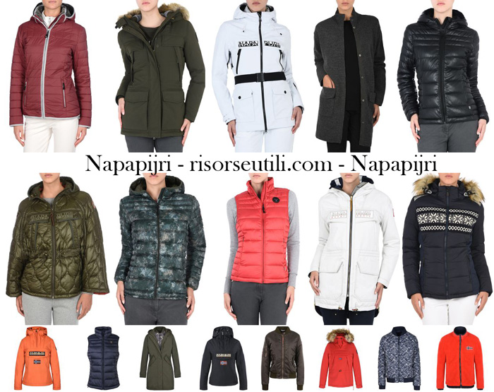 New arrivals Napapijri for women jackets fall winter