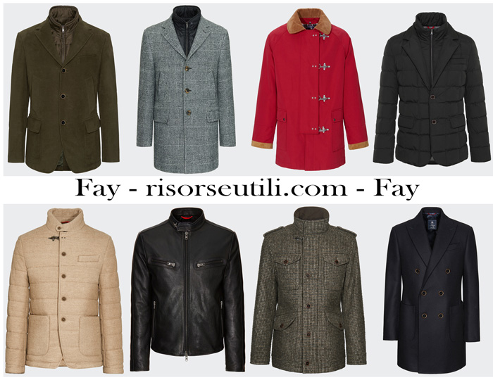 Outerwear Fay fall winter 2017 2018 for men