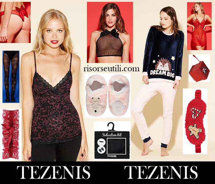 Fashion trends Christmas gifts ideas Tezenis for her underwear