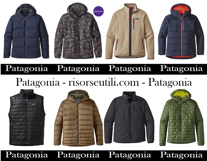 Jackets Patagonia fall winter 2017 2018 for men