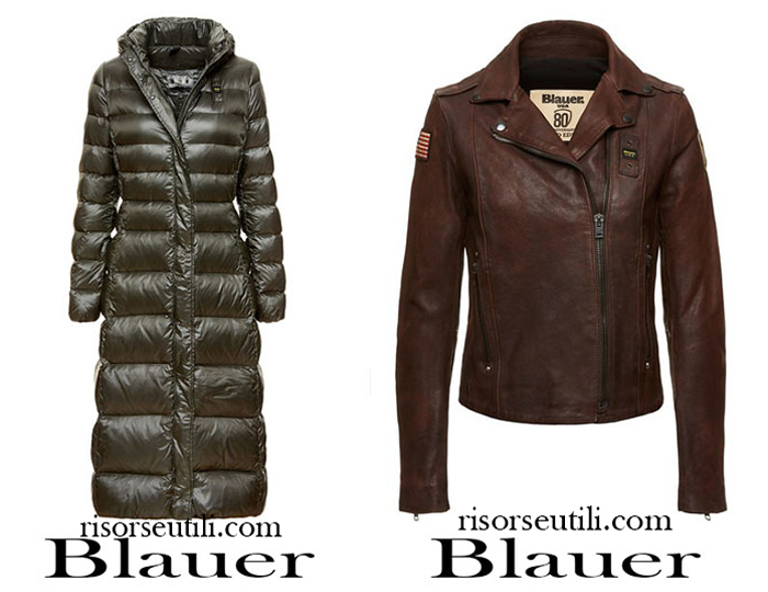 Latest fashion trends Blauer 2017 2018 for women