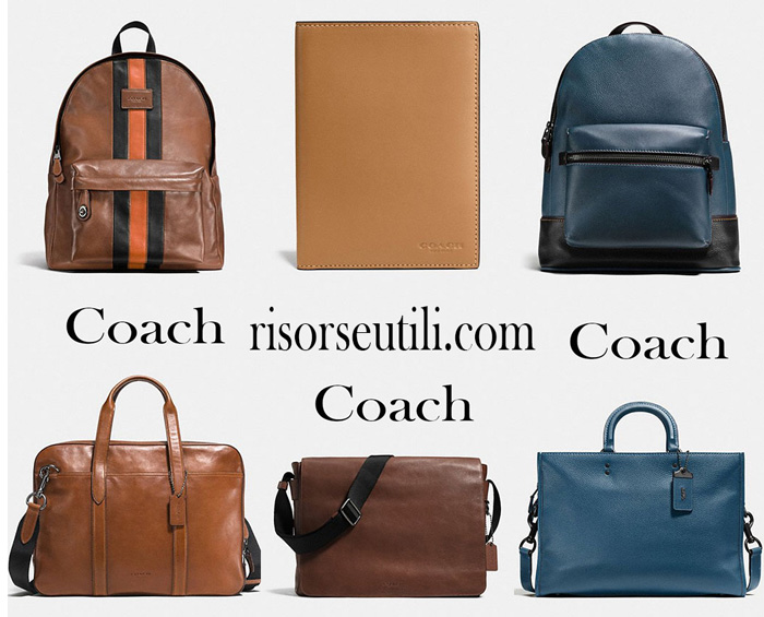 New arrivals Coach for men on Coach bags
