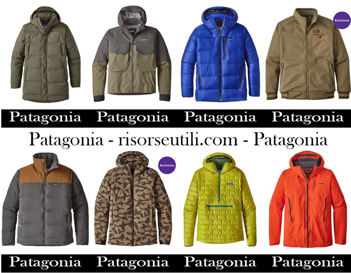 New arrivals Patagonia for men jackets fall winter