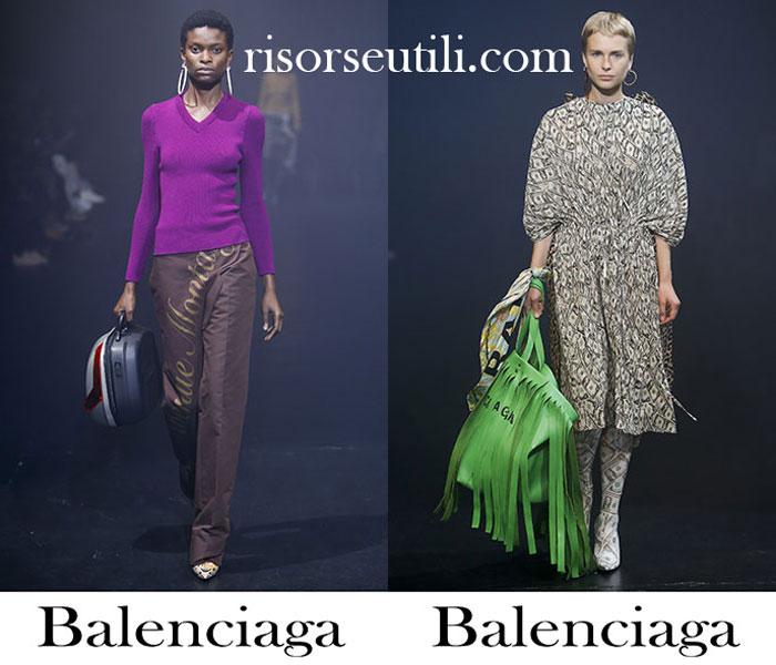 Clothing Balenciaga Spring Summer For Women