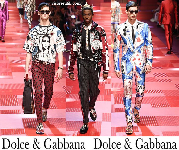 Clothing Dolce Gabbana Spring Summer For Men