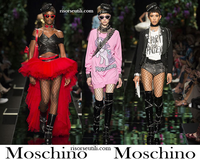 Clothing Moschino Spring Summer For Women