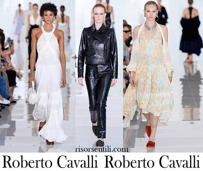 Clothing Roberto Cavalli Spring Summer Fashion For Women