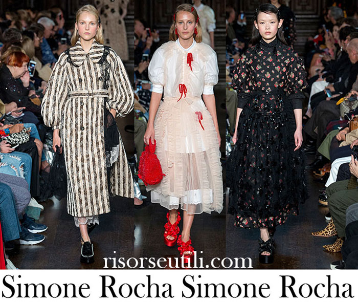 Clothing Simone Rocha Spring Summer Lifestyle For Women