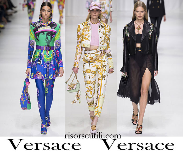 Clothing Versace Spring Summer For Women