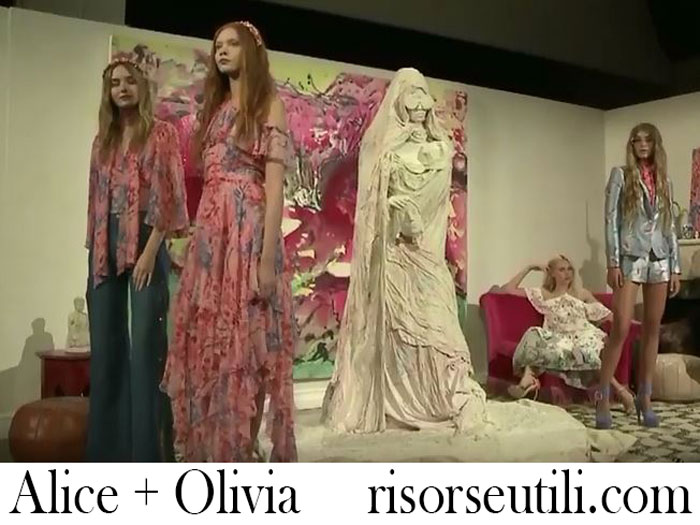 Fashion Show Alice Olivia Spring Summer 2018 For Women