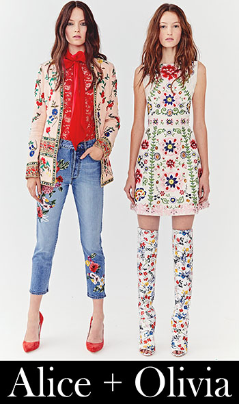 Fashion Trends Alice Olivia Spring Summer 2018